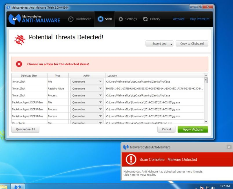 malwarebytes-anti-malware-potential-threat-detected