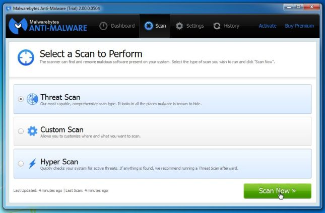 malwarebytes-anti-malware-threat-scan-option