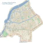 Карта Адмиралтейского района СПб