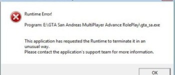 ошибка Microsoft Visual C++