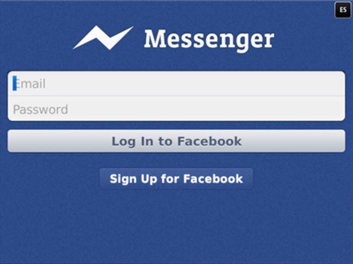 Messenger без аккаунта в соцcети