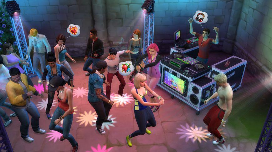 The Sims 4 Веселимся вместе