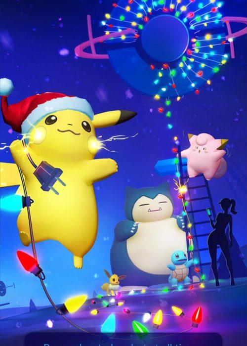 Новогоднее обновление в Pokemon GO