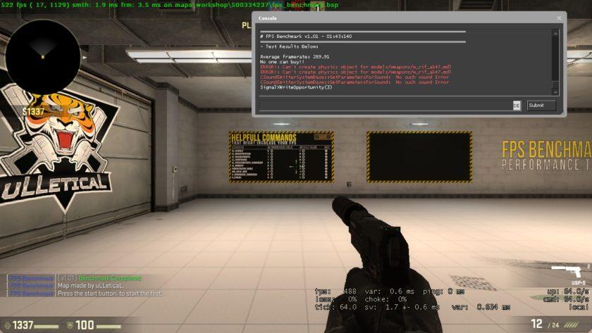 Ryzen 7 1700x в игре CS:GO