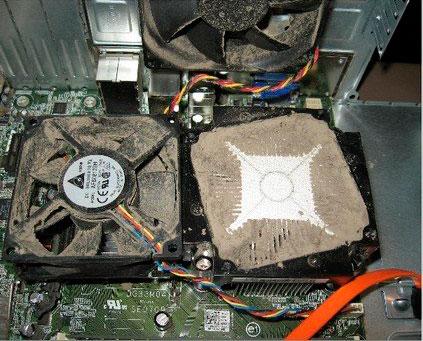 чистка вентилятора ПК