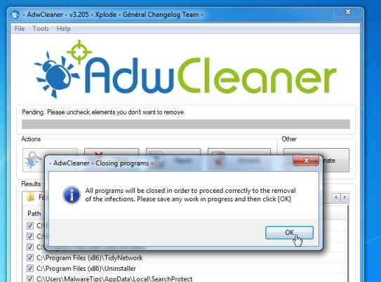 AdwCleaner-removal