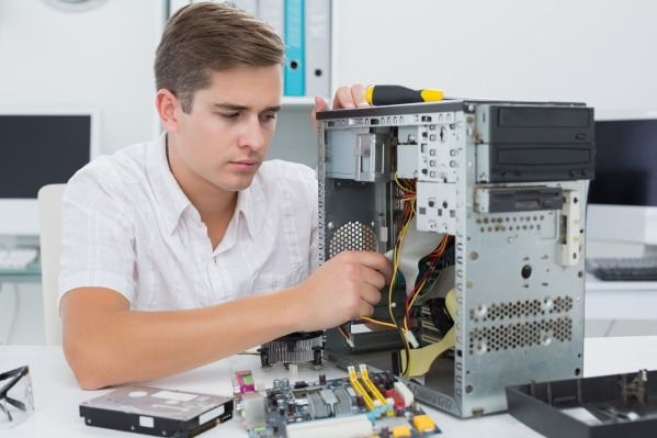 Ремонт компьютера. Компьютер не включается во время игры