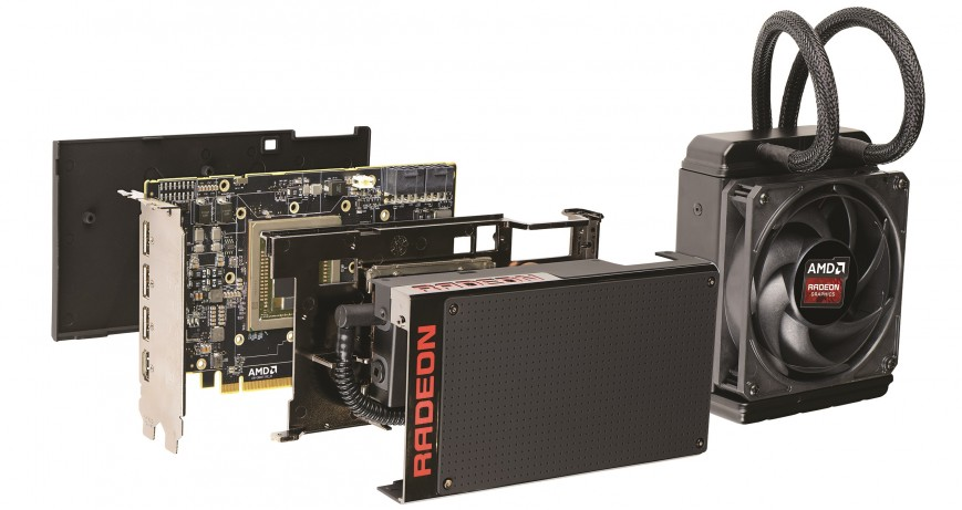 видеокарты AMD Radeon R9 Fury X