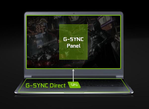 ноутбуки с технологией G-Sync