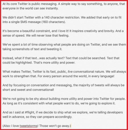 Лимит в 140 символов в Твиттере