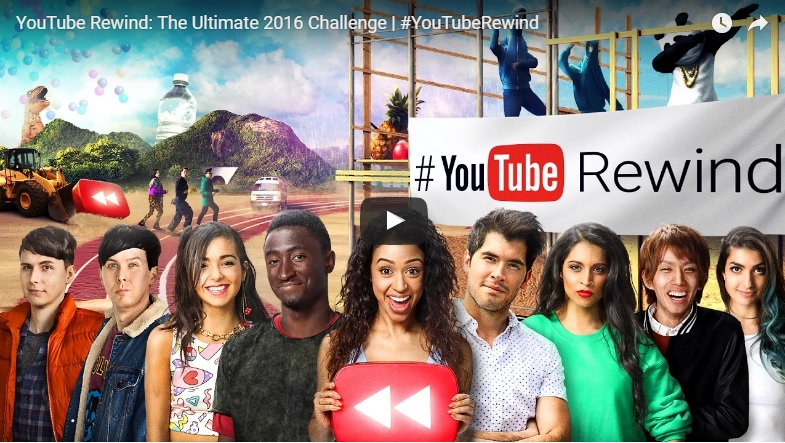 YouTube подводит итоги года: видео с 45 млн просмотров за 2 дня