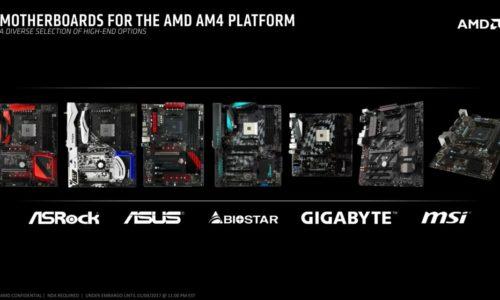 материнские платы AM-4. Старт продаж Ryzen: цены на процессоры и материнские платы AM4