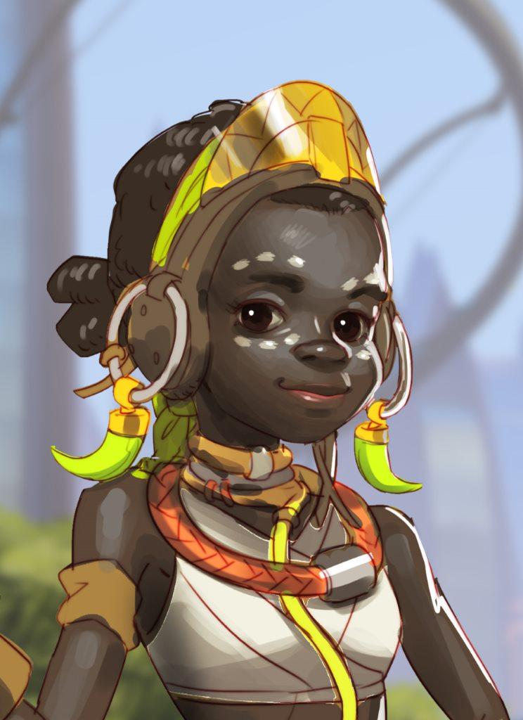 Efi Oladele - новый персонаж игры Overwatch