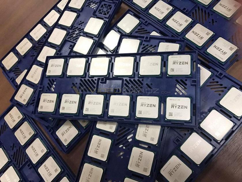 партия процессоров AMD Ryzen. Первые фото процессора Ryzen от AMD и характеристики всей серии