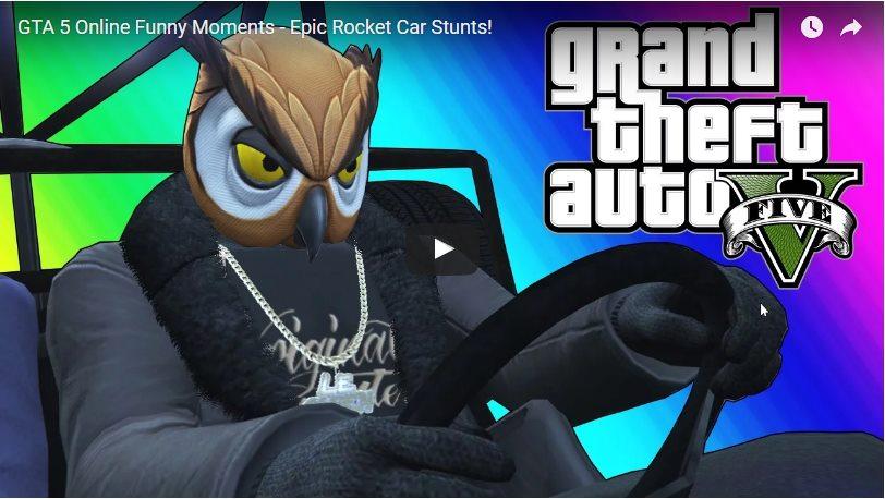 GTA 5 Online: смешные и эпичные моменты - 2017