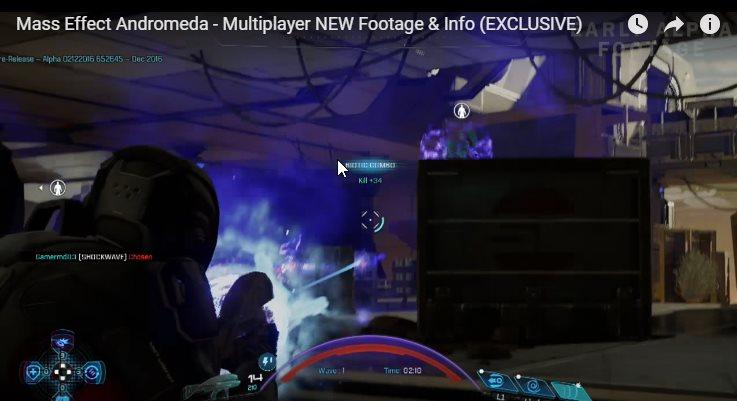 Mass Effect Andromeda - новая информация о многопользовательском режиме