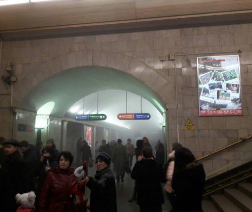 Взрыв в петербургском метро - связь вышла из строя
