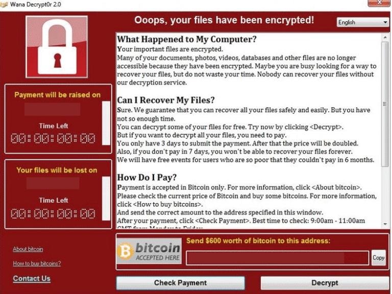 Wana Decrypt0r - новый вирус-вымогатель. Реальные способы защиты