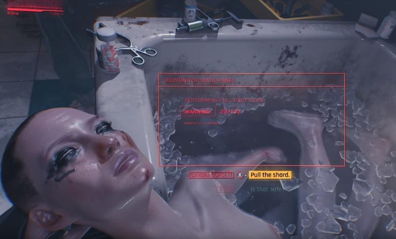 Игровой процесс Cyberpunk 2077: видео