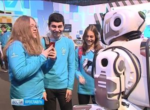 Самый современный робот в России Борис