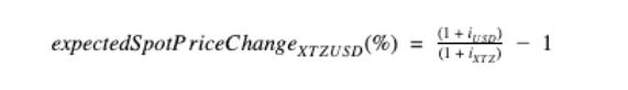 Стекинг криптовалют - формула расчета ожидаемой цены