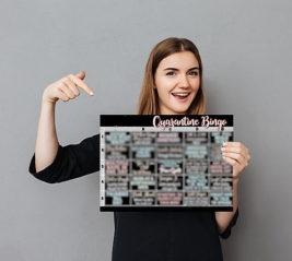Карантин Бинго! Игра для одного, двоих или компании
