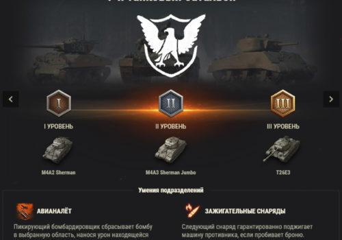 подразделение 1-й танковый батальон World of tanks