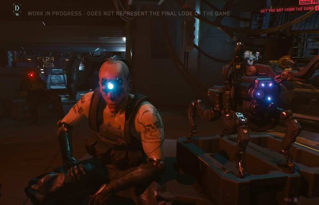 Cyberpunk 2077: часовой геймплей в 4K