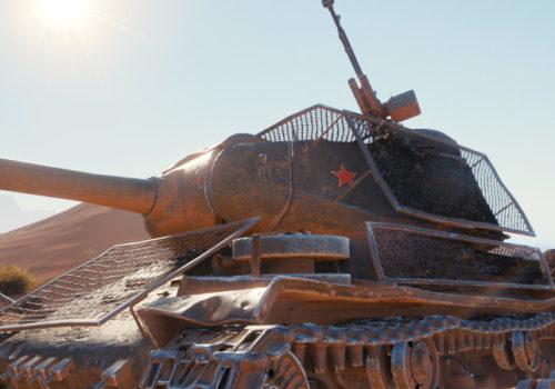 ИС-2 экранированный за победу в Дороге на Берлин